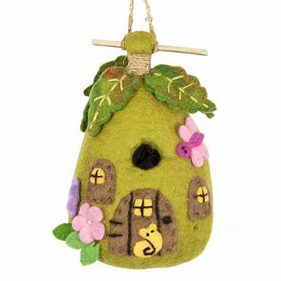 Blooming Bird House