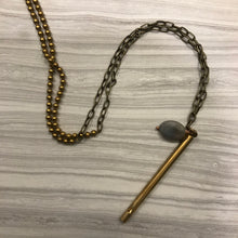 Brass Pipe Whistle Necklace