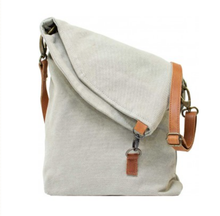 Upcycled Canvas Crossbody