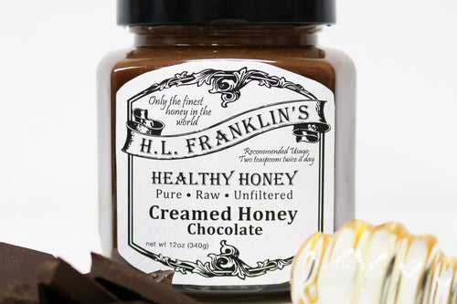Chocolate Creamed Honey