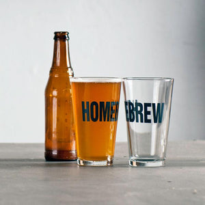 Homebrew Pint Glasses