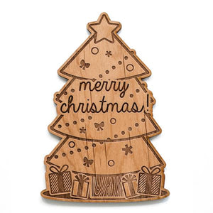 Merry Wood Card