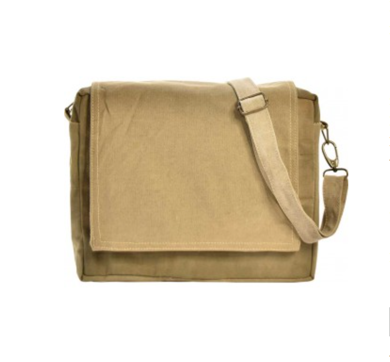 Upcycled Military Tent Crossbody