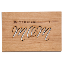 Arrow Wood Card