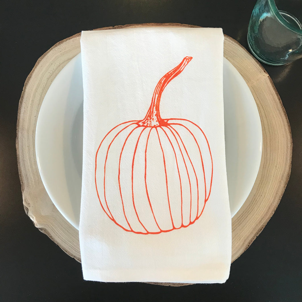 Pumpkin Cloth Napkins