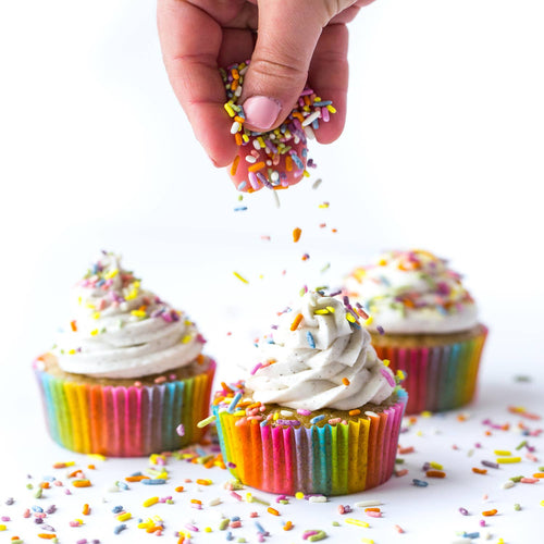 Natural Rainbow Sprinkles