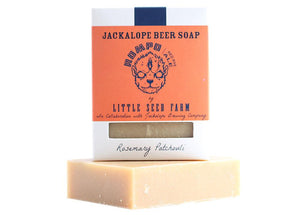 Jackalope Beer Soap