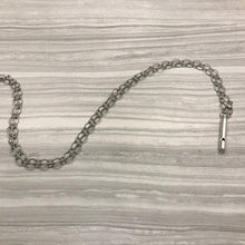 Silver Pipe Whistle Necklace