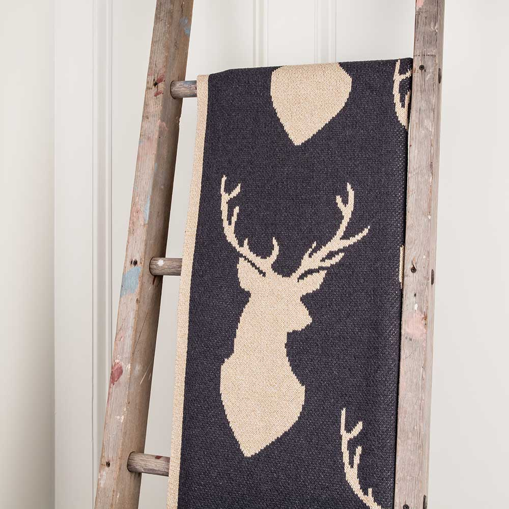Stag Throw