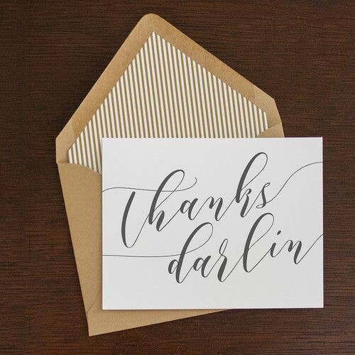 Thanks Darlin' Notecard Set