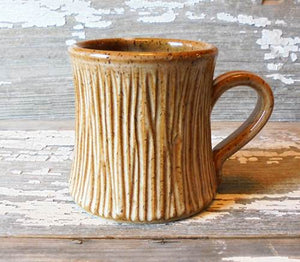 Tree Stump Mugs
