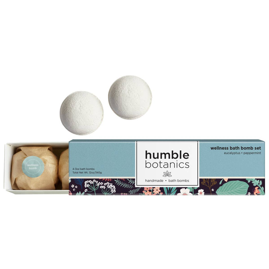 Wellness Bath Bomb Set