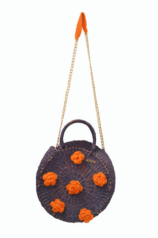 Flower straw bags