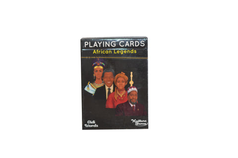 AFRICAN LEGENDS PLAYING CARDS