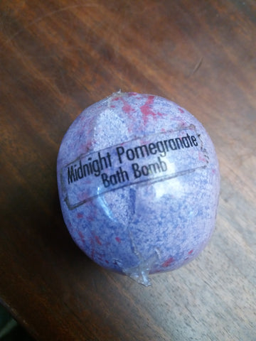 Midnight Pomegranate Bath Bomb