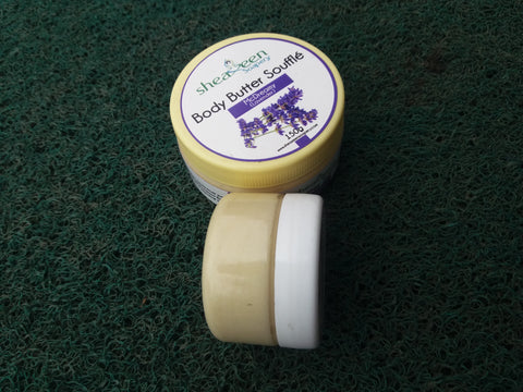 Sheaxeen body butter soufflé(lavender)