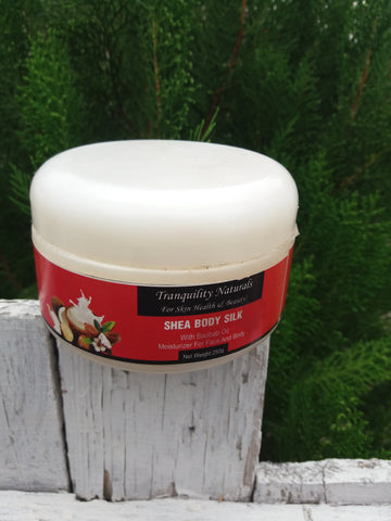 Tranquility Naturals Shea body Silk
