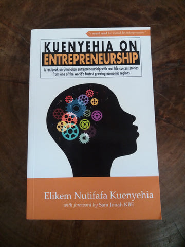 Kuenyehia on Entrepreneurship