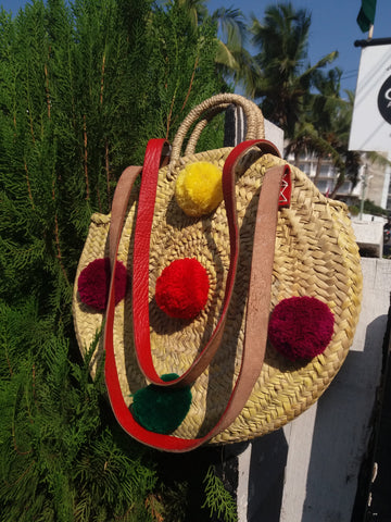 Puff Basket Bag