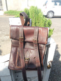 Back Pack Leather Bag