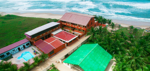 Ghana Beach Tours - Cliff Haven Beach Resort