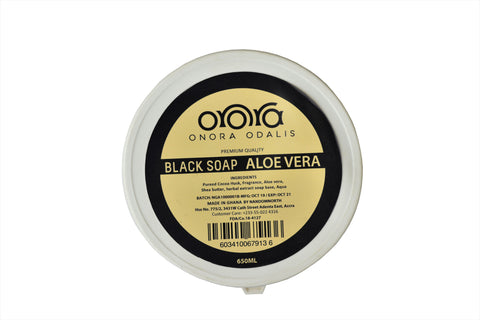 Onora Black Soap Lemon