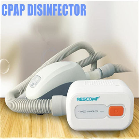 Battery CPAP Sanitizer Sterilizer Cleaner CPAP APAP Auto CPAP Disinfector Ventilator Cleaner Sleep Apnea OSAHS OSAS Anti Snoring - Health