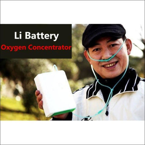 Lithium Li Battery Oxygen Concentrator DC12V Travel Use CE Portable O2 Generator For Health Care Use Oxygen Making Machine