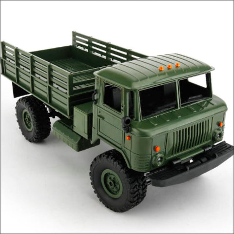 Remote Control 4WD Off-Road Military Truck - Army Green / Buy 1 GET 50% Off - Toy