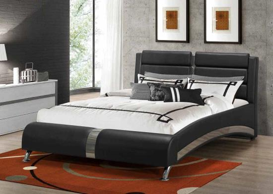 Upholstered Beds Modern Queen Jeremaine Upholstered Bed Only