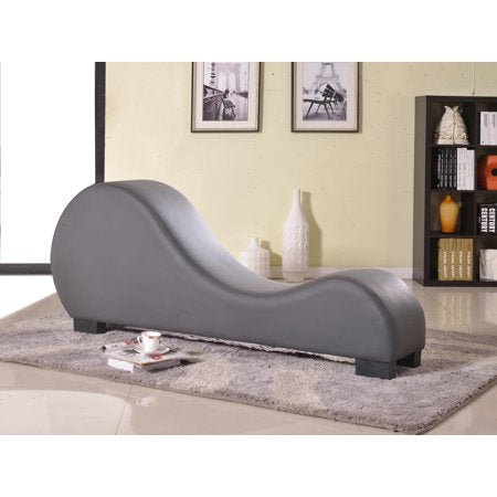 Faux Leather Yoga Stretch Relaxation Chaise