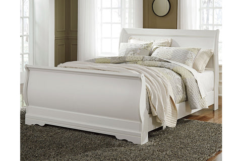 Anarasia Twin Sleigh Bed with mattress
