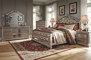 Birlanny King Size Bed Room Set