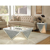 Crystal Narolie Mirrored Coffee Table