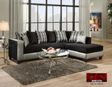 4124 - Sectional - 2 items