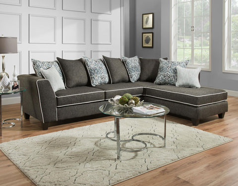 4164 - Sectional - 2 items