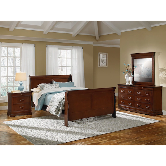 Sleigh Bedroom Set Hyatt Furniture