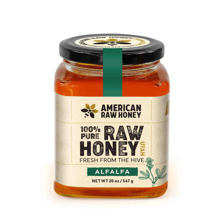 Raw Alfalfa Honey