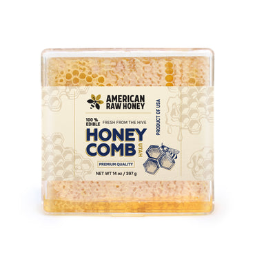 Raw Honeycomb With Honey