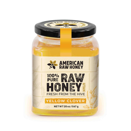 Raw Yellow Clover Honey