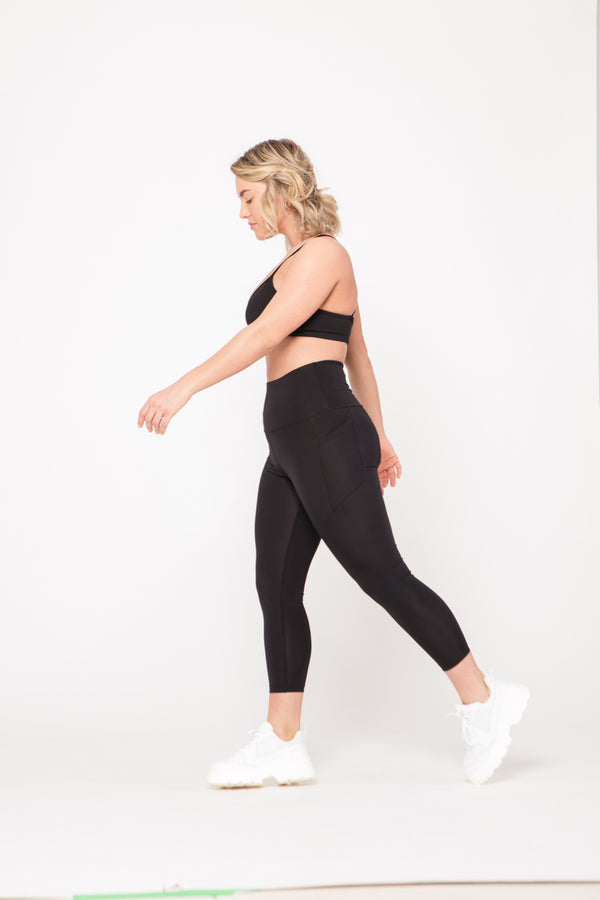 Caro High Rise Leggings (Cropped)