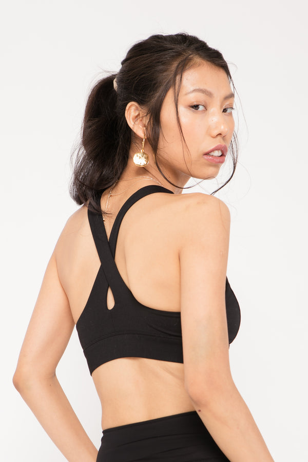Vix High Neck Bra
