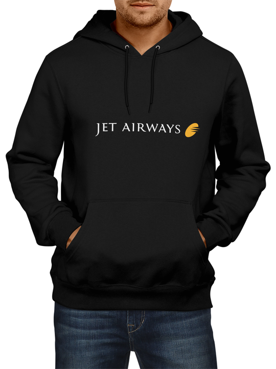 Jet Airways Black Hoodie