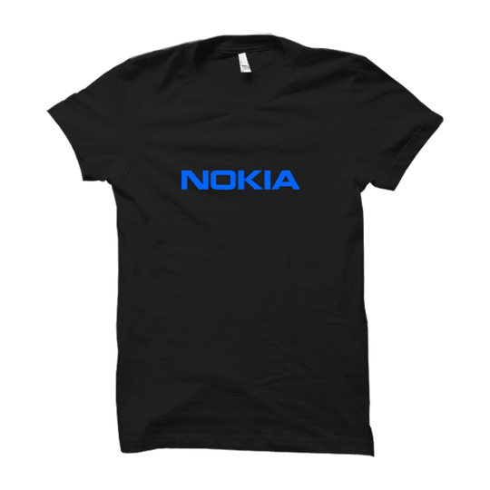 Nokia Black Half Sleeve T Shirt