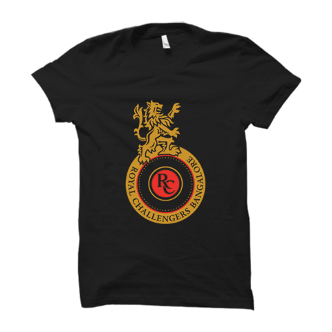 Royal Challengers Bangalore Half Sleeves T-Shirt