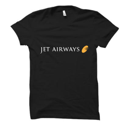 Jet Airways Half Sleeves T-Shirt