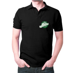 Black jazz Polo T-shirt