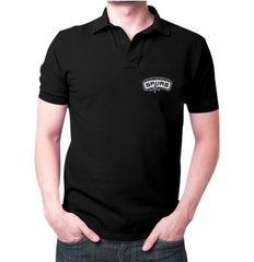 Black Santonio Spurs Polo T-shirt
