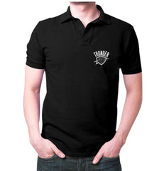 Black Thunder okc Polo T-shirt