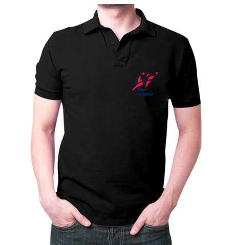 Black wizards Polo T-shirt